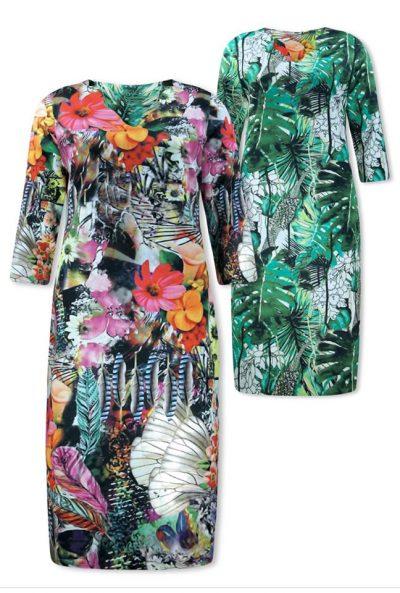 Prachtige reversibel jurk van lizzy en coco!