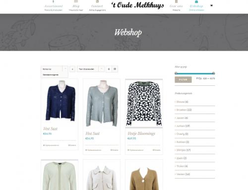 Onze nieuwe damesmode kledingwinkel webshop is online!